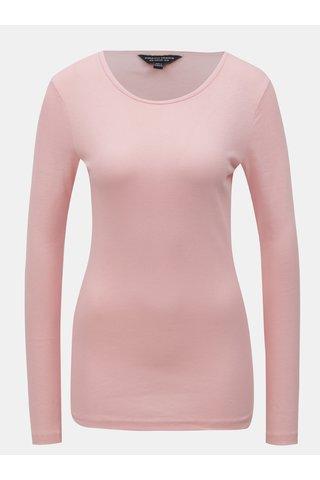 Tricou roz cu maneci lungi Dorothy Perkins