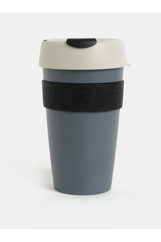 Cana de calatorie gri inchis KeepCup Original Large