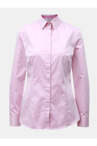 Camasa de dama roz cu nasturi ascunsi VAVI