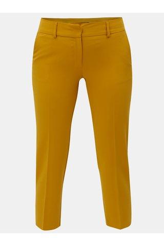 Pantaloni crop mustar Dorothy Perkins