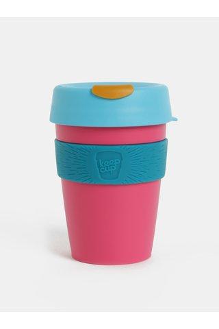 Cana de calatorie albastru-roz KeepCup Original Medium