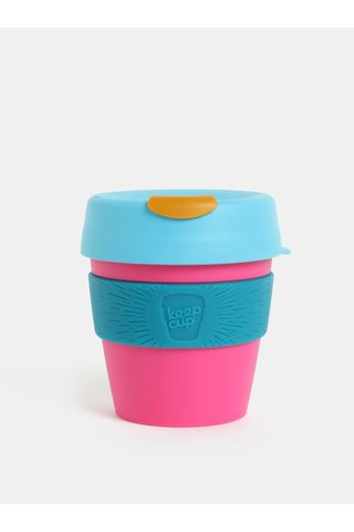Cana de calatorie albastru-roz KeepCup Original Small