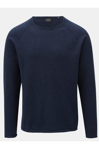 Pulover albastru inchis Jack & Jones Union
