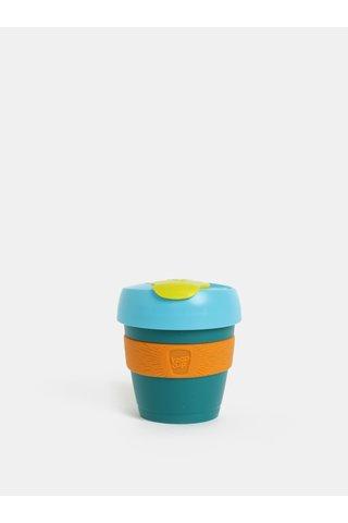 Cana de calatorie verde-oranj KeepCup Original Extra Small