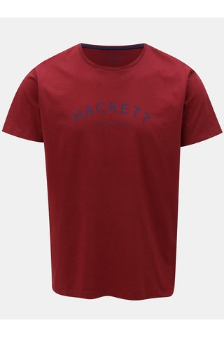 Tricou visiniu classic fit Hackett London
