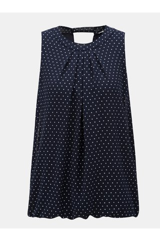 Bluza albastra cu model Haily´s Dotty