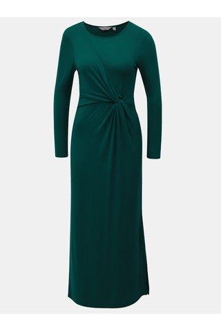 Rochie maxi verde cu maneci lungi Dorothy Perkins Petite