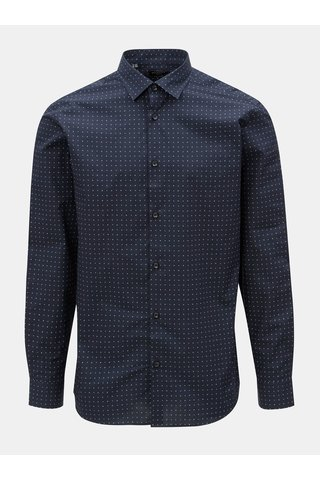Camasa albastra slim fit Selected Homme