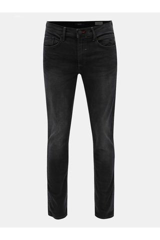 Blugi negri slim fit din denim Blend