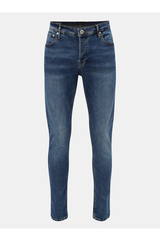 Blugi slim din denim cu aspect prespalat Jack & Jones Glenn