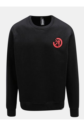 Bluza sport neagra cu print Meatfly