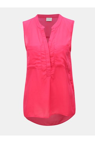 Bluza roz cu buzunare Jacqueline de Yong Elba
