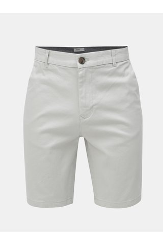 Pantaloni scurti gri deschis chino Burton Menswear London
