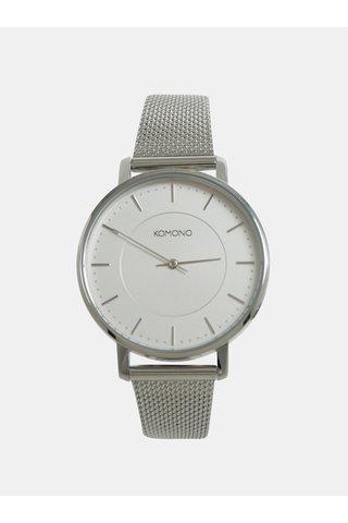 Dámské hodinky ve stříbrné barvě Komono