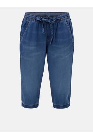 Modré lehké džínové kraťasy S.Oliver
