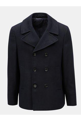 Pardesiu albastru inchis Burton Menswear London