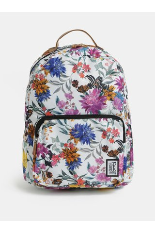 Rucsac de dama alb cu model The Pack Society 18 l