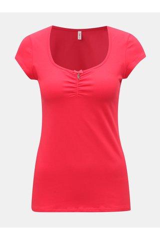 Červené tričko s krátkým rukávem Blutsgeschwister
