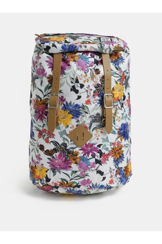 Rucsac de dama alb cu model The Pack Society 23 l