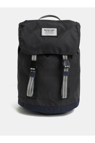 Šedý klučičí batoh s klopou Burton Youth Tinder 16 l