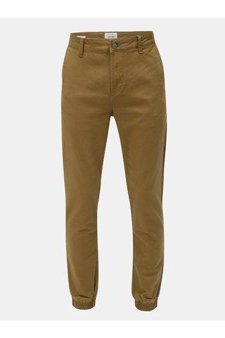 Pantaloni maro anti fit chino ONLY & SONS