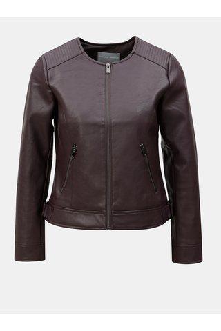 Jacheta visinie din piele sintetica Dorothy Perkins Petite