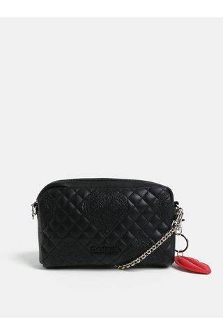 Borseta/geanta de dama neagra din piele sintetica Desigual Claudia