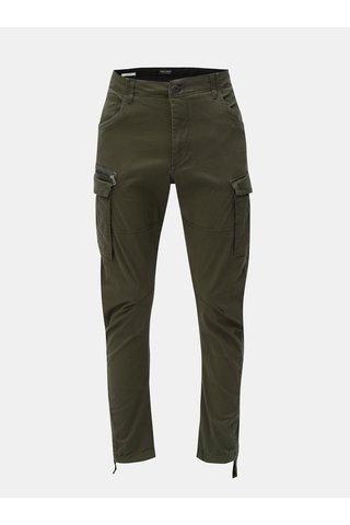 Pantaloni kaki anti fit cu buzunare Jack & Jones Drake