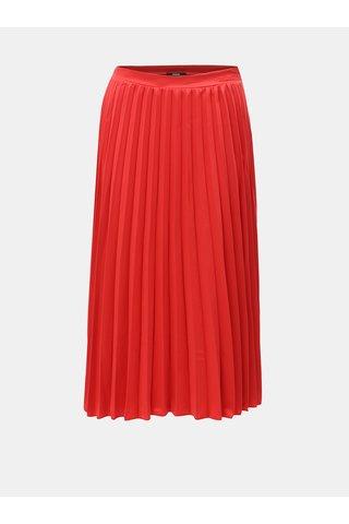 Červená plisovaná sukně ZOOT