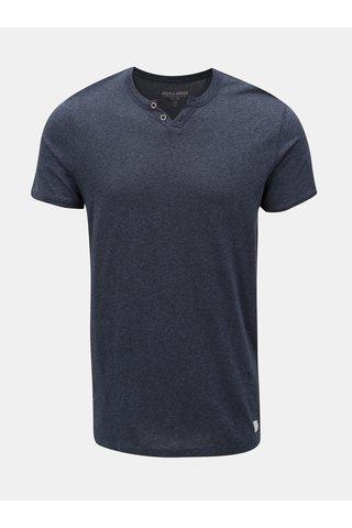 Modré žíhané tričko s krátkým rukávem Jack & Jones Ranco Tee
