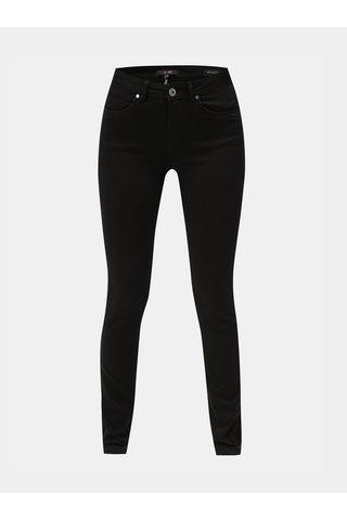 Černé strečové slim džíny Yest