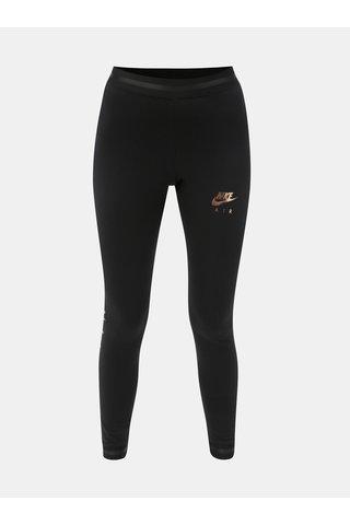 Leggings de dama negri cu print Nike Air
