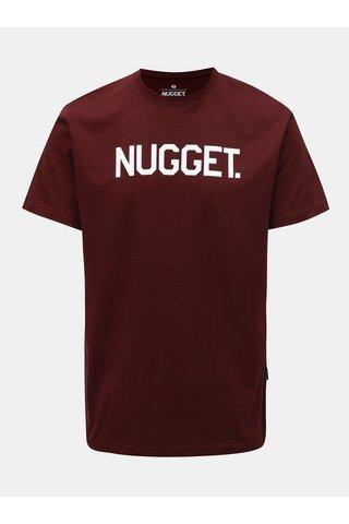 Tricou barbatesc visiniu Nugget