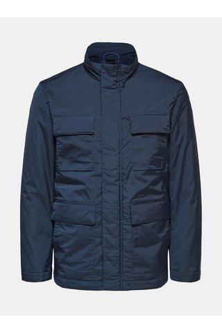 Tmavě modrá funkční bunda Selected Homme Noe