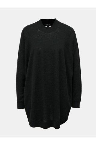 Pulover oversize negru din lana Selected Femme