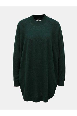 Pulover oversize verde din lana Selected Femme