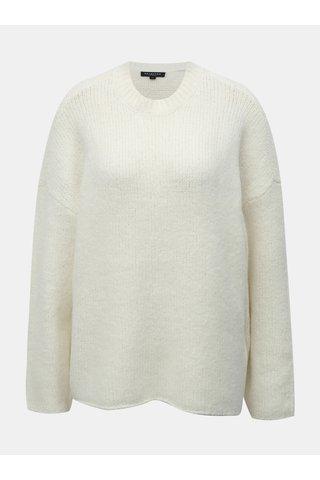 Pulover crem cu amestec de lana Selected Femme Fregina