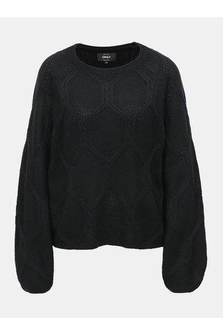 Černý svetr ONLY Felina