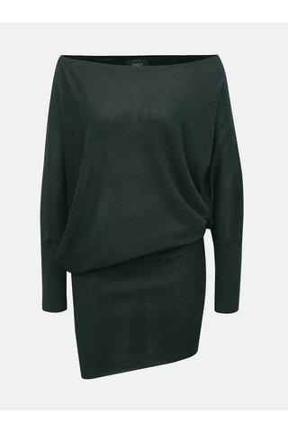 Zelené třpytivé asymetrické šaty ONLY Janni