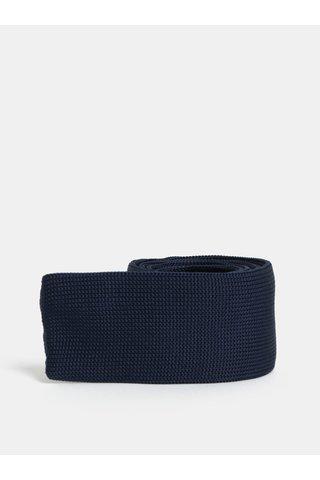 Tmavě modrá slim kravata Selected Homme Vilhelm