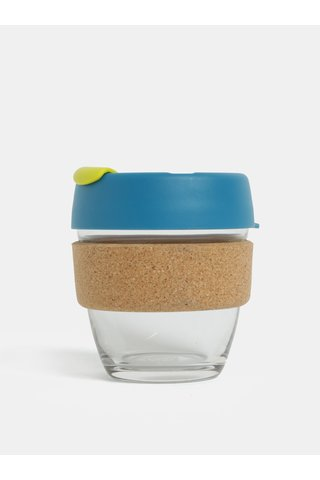 Cana de calatorie albastra din sticla KeepCup Original Brew Small