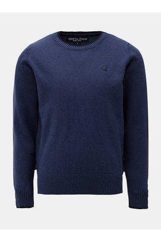 Tmavě modrý svetr s drobnou výšivkou North Pole Kids