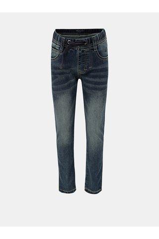 Modré džíny s vyšisovaným efektem North Pole Kids