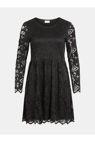 Černé krajkové šaty VILA Vistasia