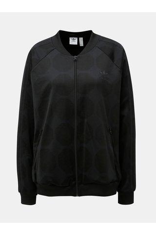 Bluza sport neagra cu model  fotbal adidas Originals