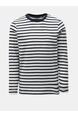 Modro-bílé klučičí pruhované tričko Name it Villy