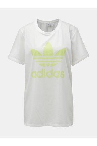 Tricou de dama alb lejer cu logo adidas Originals