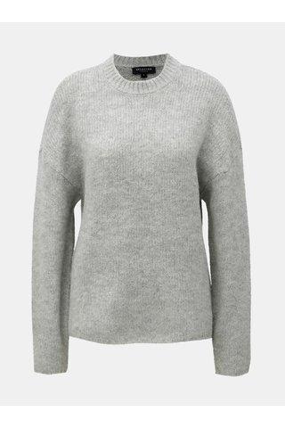 Pulover gri cu amestec de lana si lana alpaca Selected Femme Regina