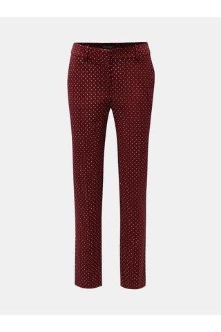 Pantaloni visinii cu buline Dorothy Perkins Tall