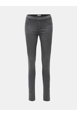 Jeggings gri Dorothy Perkins Tall